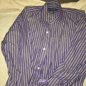 Pin stripe button down dress by Ralph Lauren