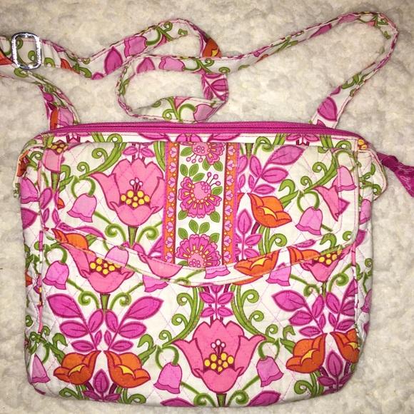 Vera bradley bags pink flower purse poshmark m5a25b39368027834d00dabe2 mightylinksfo