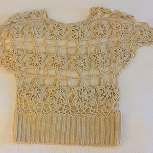 Tops - Crochet top from Anthropology