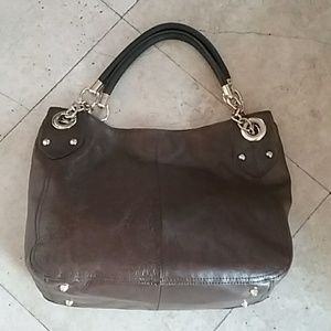 Cynthia Rowley brown leather tote