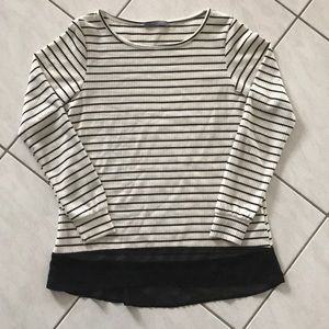 Loveappella Striped Tee