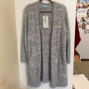 🎁 Anthropology Long Soft Open Cardigan - 🆕 NWT