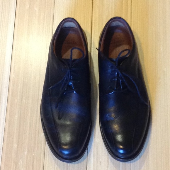 a2955b5c30 Clarks Shoes | Mens Black Active Air Vent 1825 Dress Shoe | Poshmark