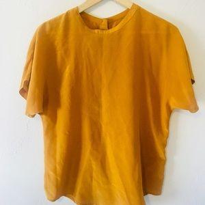Tops - the perfect marigold shirt