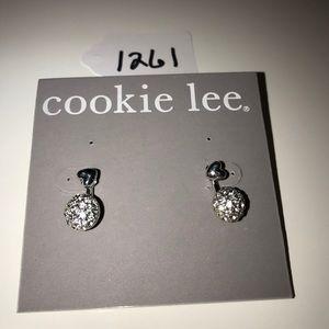NWT Cookie Lee Crystal Earrings