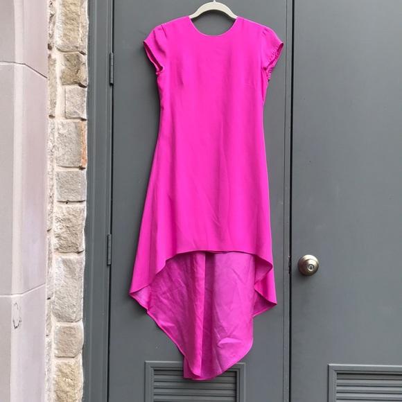Nha Khanh Dresses & Skirts | Nha Khanh HighLow Hot Pink Cocktail ...