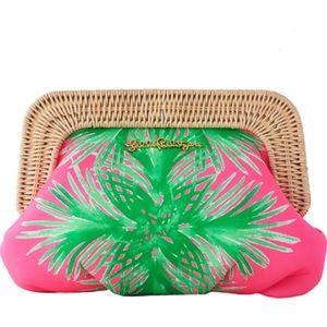 NWT Lilly pulitzer palmella clutch