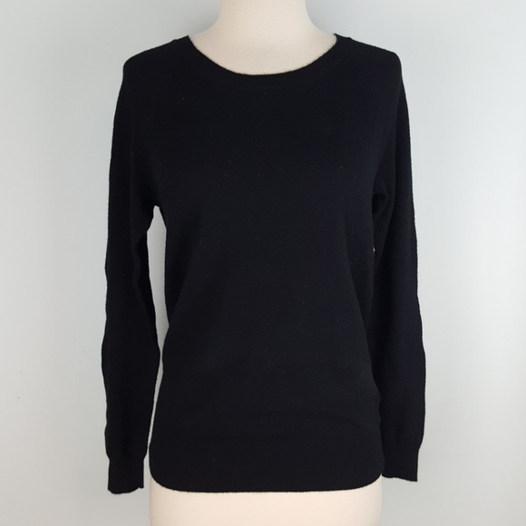 Mossimo Supply Co. - Mossimo soft black sweater from Meli &'s ...