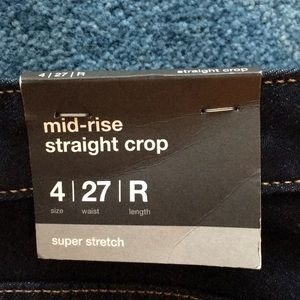 Mossimo Supply Co. Jeans - Mossimo jeans size 4/27 and Merona XS sweater