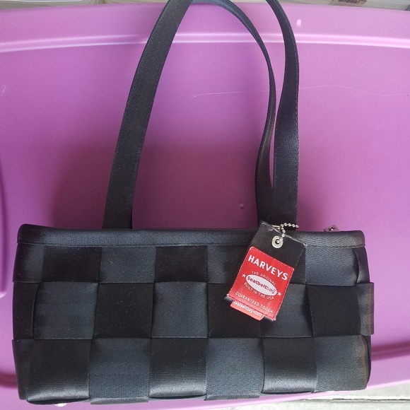 0b99728383 harveys Handbags - Harveys Original Seatbelt Bag Black Purse