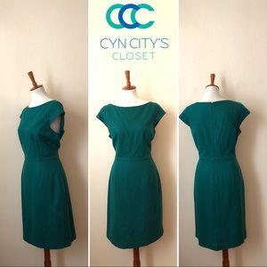 NWOT Pim + Larkin Wool-like Green Dress