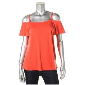 🎉Sale!🎉 MICHAEL KORS cold shoulder blouse