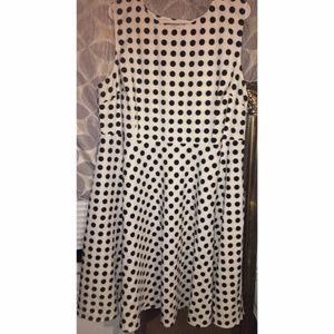 Avenue Polka Dot Dress