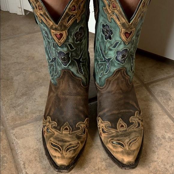 8cce2c44d23 Dan Post Vintage Bluebird Women's Cowboy Boots
