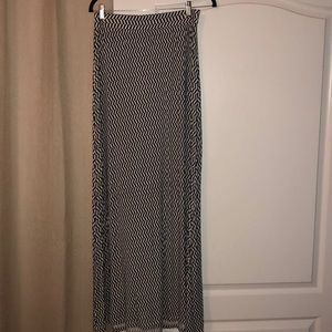 Patterned Maxi Skirt - worn once!
