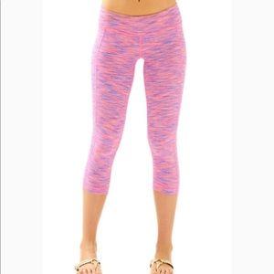 Lilly Pulitzer cropped weekender leggings