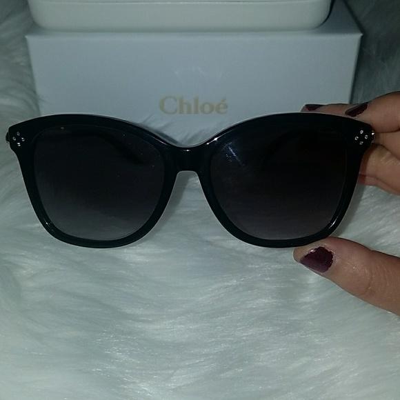 1a08e1b56fd Chloe Accessories - NWOT Chloe cateye sunglasses with rhinestones