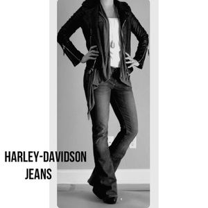 Harley-Davidson Jeans Black Boot Cut 8