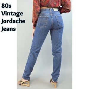 Vintage High Waist Mom Jeans Jordache Tapered leg