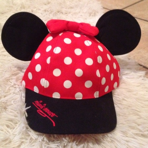 Disney Accessories Minnie Mouse Ears Snapback Hat Poshmark