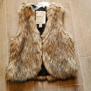 Faux Fox Fur Vest