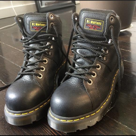 4e422b73925 Dr Marten's Ironbridge Steel Toe Boots- Unused NWT