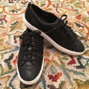 Cole Haan Hendrix Black Snake Print Tennis Shoe