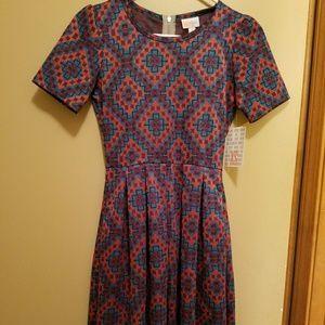 NWT Lularoe XS Amelia dress
