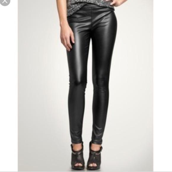 f0d71a4e28d19c GAP Pants | Faux Leather Leggings | Poshmark