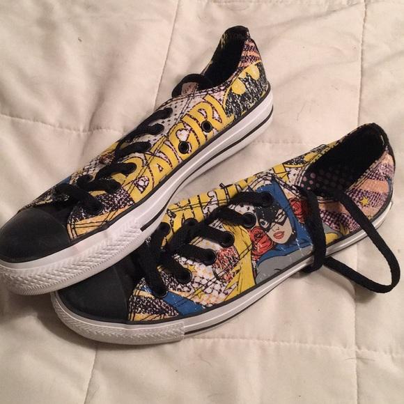 Converse Shoes   Converse Batgirl
