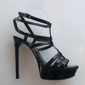 Saint Laurent Tribute Patent Sandal