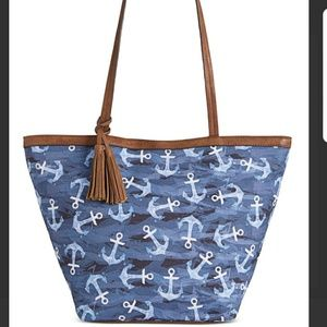 Deep Sea Anchor Tote