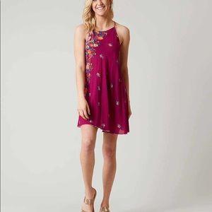 NWT Free People It's A Cinch Printed Slip Dress
