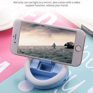 Accessories - LED Clip-On Ring Light for iPhone Selfies