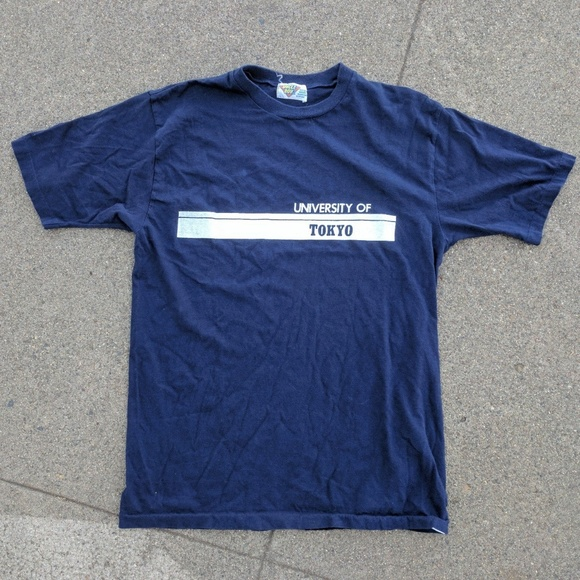 d3c56aef7d49 Shirts | Vintage University Of Tokyo Tshirt | Poshmark