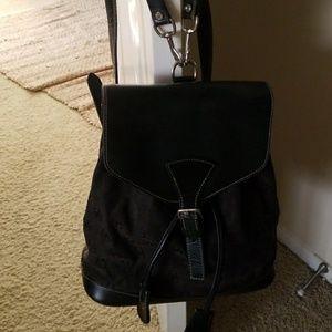 Monogram Dooney & Bourke Back Pack purse