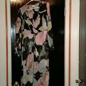 Dresses & Skirts - Beautiful sheer floral gown.