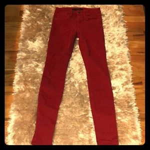 Joe's Red Skinny Jeans 💥