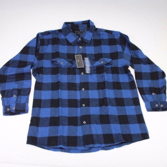 485b3d106 Field   Stream Blue   Black Checker Flannel Shirt