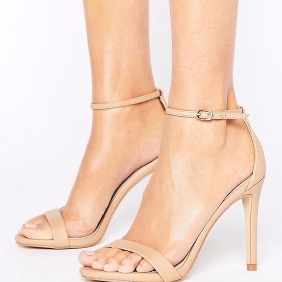114281cde0c STEVE MADDEN Stecy Nude Blush Patent Stiletto Heel