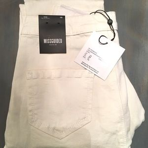 Brand new with tags Misguided Ecru US size 6S