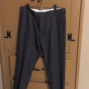 New with tags wool jcrew trousers