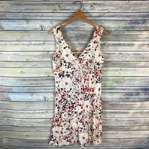 Patagonia Floral Organic Cotton Sleeveless Dress