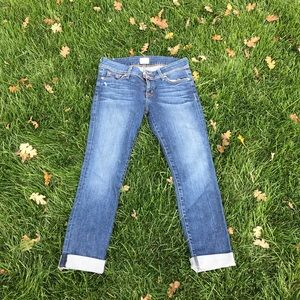 Hudson Ginny straight cuff jean
