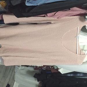 Sweater long sleeve dress
