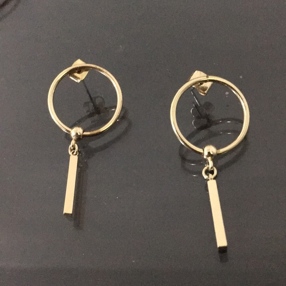 71e4f71d6e5 Nordstrom Jewelry | Hoop Dangle Stud Earrings Gold | Poshmark