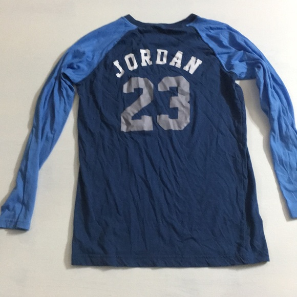 reputable site 25737 b7f74 Boys size 12 Air Michael Jordan LS Shirt
