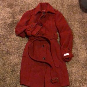 Vintage style Calvin Klein, wool coat.