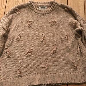 Madewell Tassel Sweater