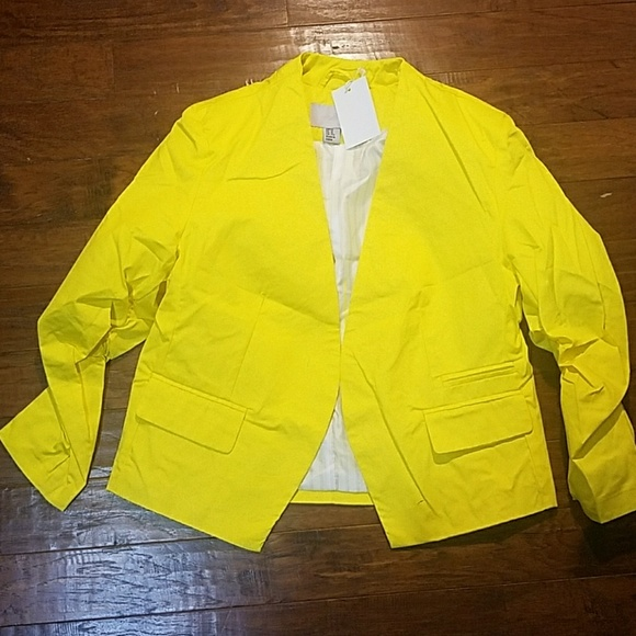 47% off AsM Jackets & Blazers - Women yellow short jacket from ...